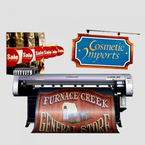 Image of Store Signage prints, Store Signage Service, Perfect Image Printing