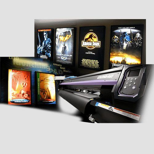 Image of backlit prints display, Backlit , Perfect Image Printing