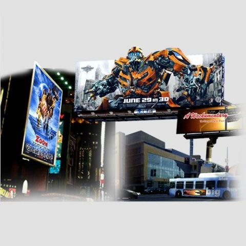 Image of a display of bill board prints, Billboard, Perfect Image Printing