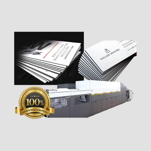 Image of prints of black edge cards, Black Edge Cards, Perefct Image Printing