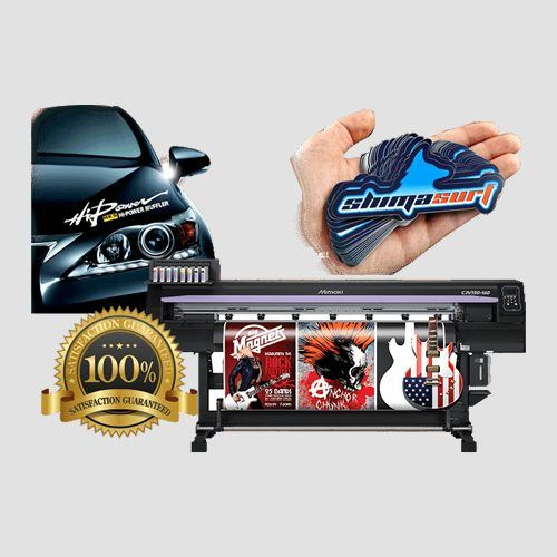 Image of display of bumper stickers, Bumper |Vehicle Stickers, Perfect Image Printing