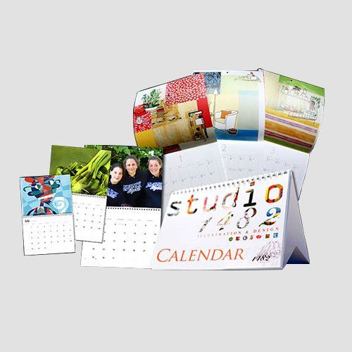 Image of a display of calenders, Calenders, Perfect Image Printing