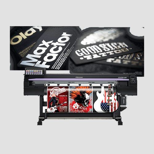 Image of a display of foil application prints, Foil Application , Perfect Image Printing