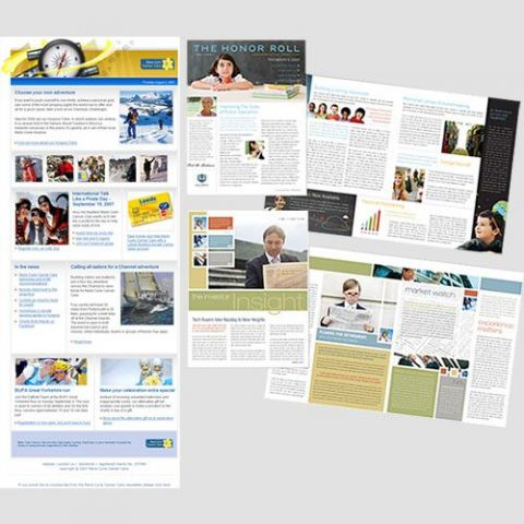 Image of Newsletters displayed, Newsletters, Perfect Image Printing