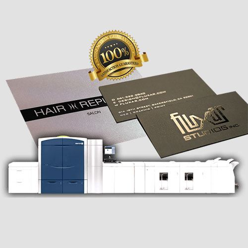 Image of a display of platinum pearl card prints, Platinum Pearl Cards , Perfect Image Printing