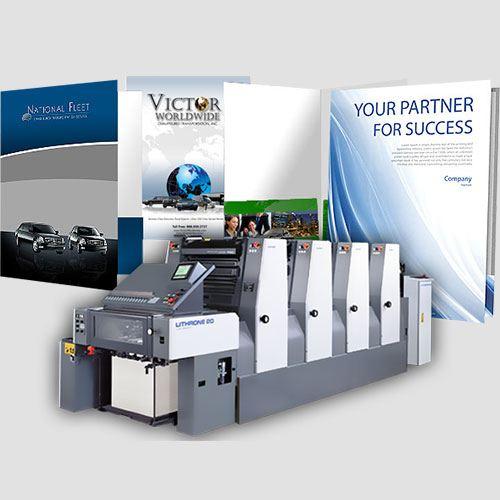 Image of presentation folder, Presentation Folder, Perfect Image Printing