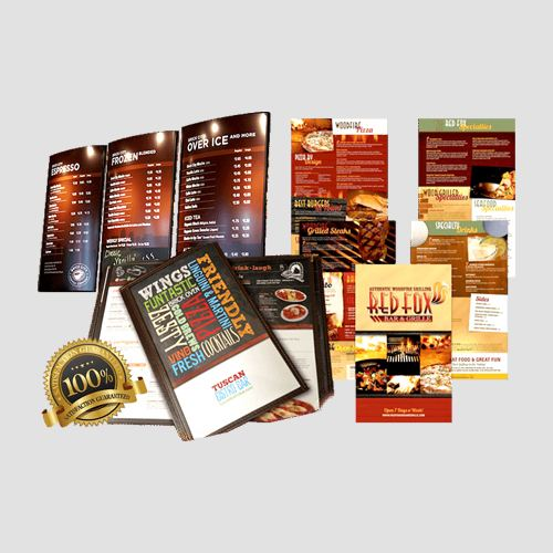 Image of Restauurant menus display, Restaurant menus, Perfect Image Printing