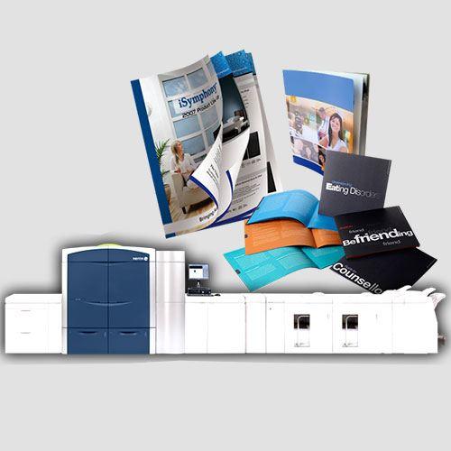 Image of display of booklet prints, Booklet Printing, Perfect Image Printing