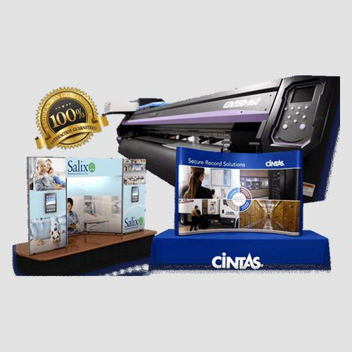 Image of table top displays with printer, Table top Display , Perfect Image Printing